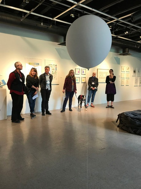 ...outside the lines: Art exhibition at Winters Gallery